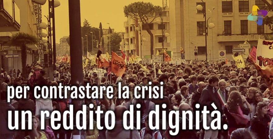 ITALY: 65,000 people support anti-mafia campaign for a 'dignity income'