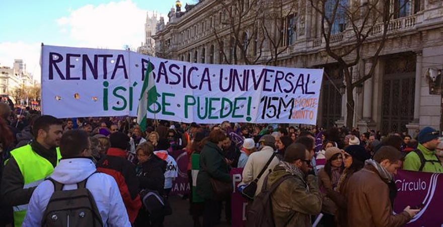 SPAIN: Podemos working group seeks 37,000 signatures to reinstate basic income as a manifesto commitment