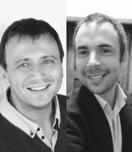 André Barata and Renato Miguel do Carmo (credit to: Fnac Chiado)