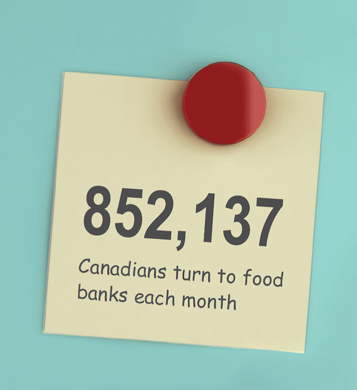 CANADA: Food Banks Charity Calls For Basic Income To
