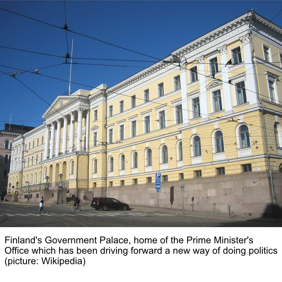 FINLAND: The world's first country with truly experimental governance