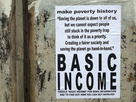 There is no human future without a basic income