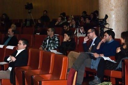 Conference room at Portuguese Parliament. Credit to: Luís Gaspar.