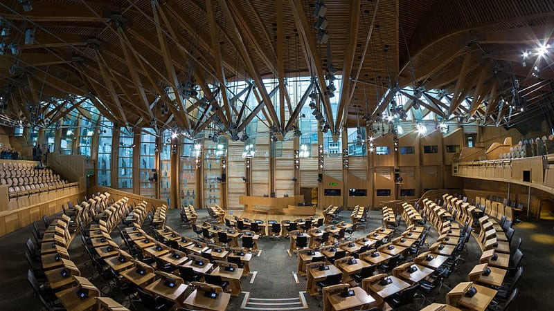 Image: Scottish Parliament Building Source: Wikimedia Commons