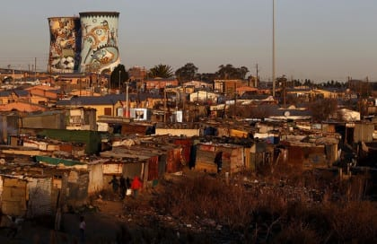 Informal settlement in Soweto. Credit to: The Conversation