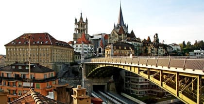 Will Lausanne be the first Swiss city to test a BI? (Picture CC Alice)