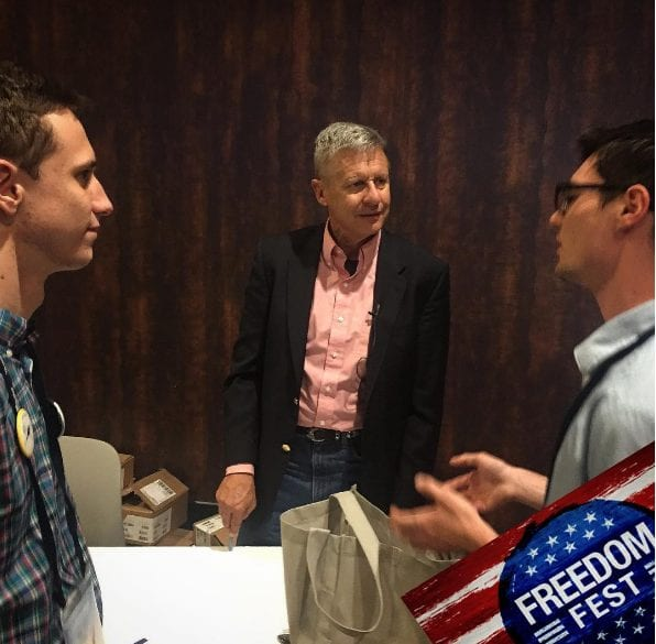 US libertarian presidential candidate 'open' to basic income