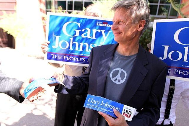 US: Johnson supports Basic Income on libertarian principles