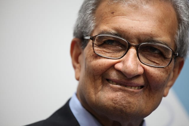 Amartya Sen: India not ready for a basic income