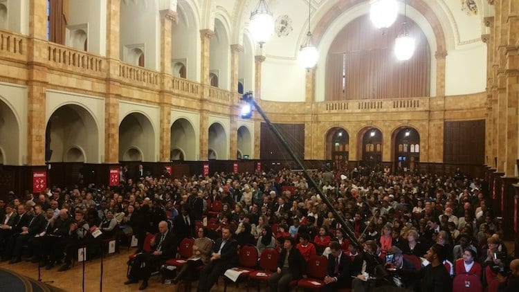 UK: One thousand people hear demand for West Midlands Basic Income pilot