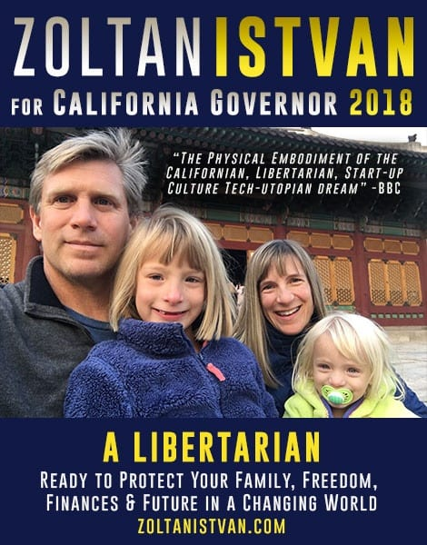 Interview: California gubernatorial candidate proposes state-wide basic income