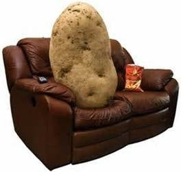 How Many Couch Potatoes Can You Live With?