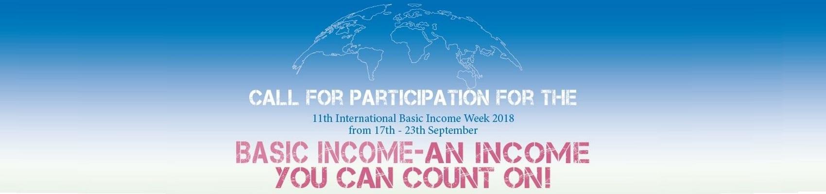 International: 11th Basic Income Week