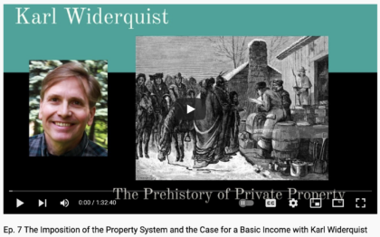 Prehistory of Private Property
