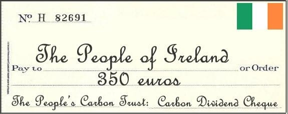 Carbon Tax and Dividend Endorsed by Irish Prime Minister