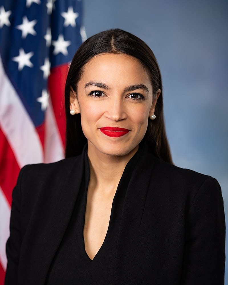 AOC buckled under pressure over basic income