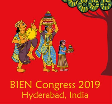BIEN Conference 2019: Contributions invited for an anthology of writings, poems and visual art