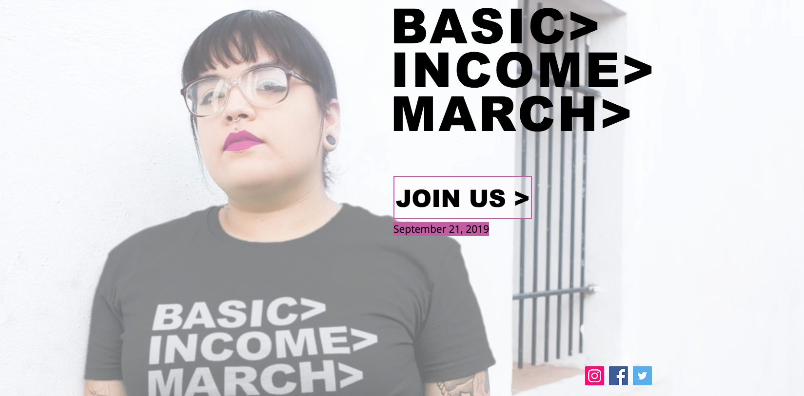 Basic Income March, New York City, October 26, 2019 (updated)