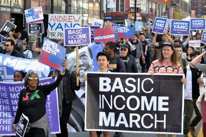 UBI March, New York, 2019