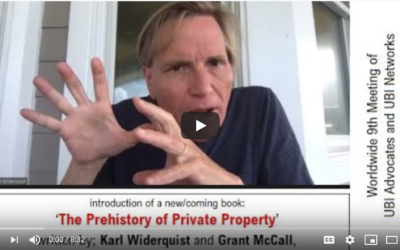 The Prehistory of Private Property: A video introduction to the new book by Karl Widerquist and Grant McCall
