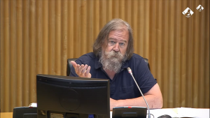 Spain: Daniel Raventós talks about Basic Income at Parliamentary Commission