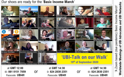 An online 'march' for Basic Income