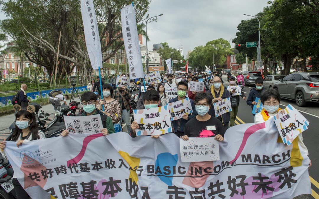 'Liberate our imagination': Taiwan holds first basic income march
